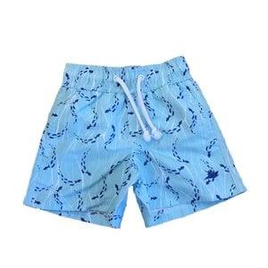 SouthBound Swim Trunk - Swimming Fish