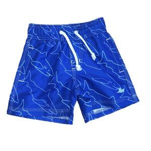 SouthBound Swim Trunk - Royal Blue Shark