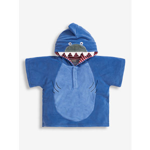 JoJo Maman Bebe Hooded Shark Towel Poncho