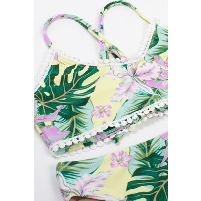 Shade Critters Tropical Oasis Tie Back Bikini