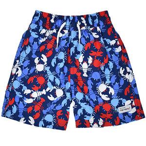 Flap Happy Lobster Party UPF 50 Swim Trunks