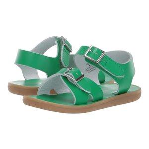 Footmates Tide Kelly Green Sandal2