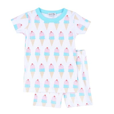 Magnolia Baby Two Scoops Short Pajama