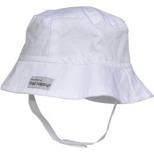 Flap Happy White UPF 50 Beach Bucket Hat
