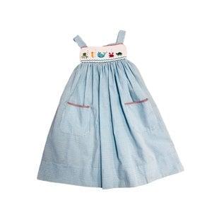 Lulu Bebe LLC Sea Smocked Dress