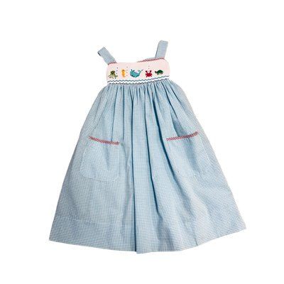Lulu Bebe LLC Sea Smocked Dress