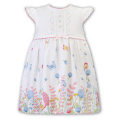 Sarah Louise Butterfly Linen & Sweater Dress