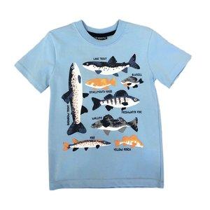 Globaltex Light Blue Fishing Jersey Tee