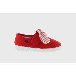 Victoria Bow Red Maryjane Sneaker