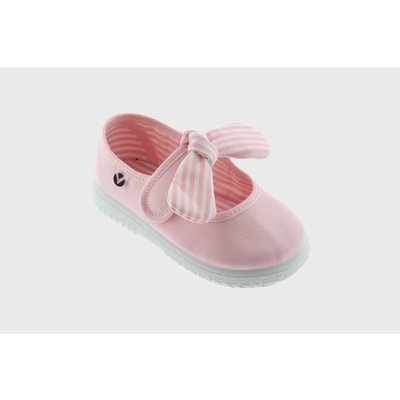Victoria Bow Pink Maryjane Sneaker