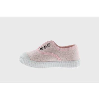 Victoria No Lace Pink Sparkle Sneaker