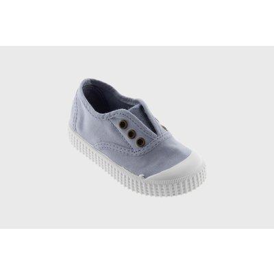 Victoria No Lace Sneaker Nube (Lt Blue/Grey)