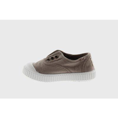 Victoria No Lace Sneakers Beige (Tan)