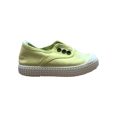 Victoria No Lace Lima Sneakers (Lime)