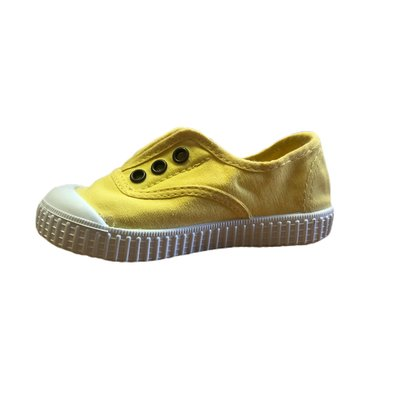 Victoria No Lace Maiz Sneaker (Yellow)