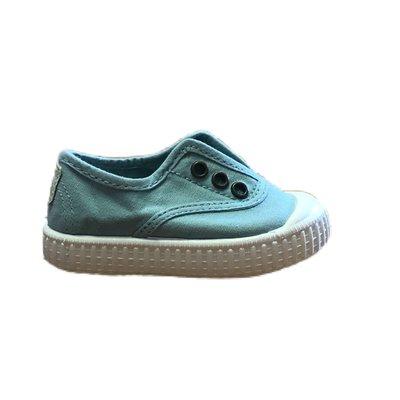 Victoria No Lace Manzana Sneaker (Aqua)