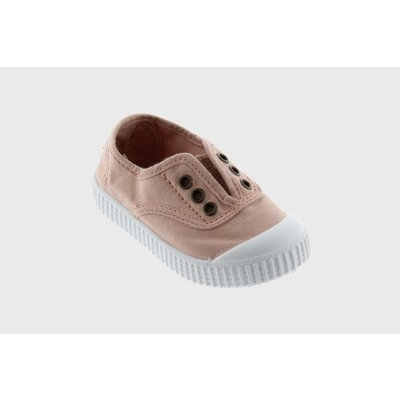 Victoria No Lace Ballet Pink Sneaker