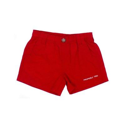 Properly Tied Mallard Red Short