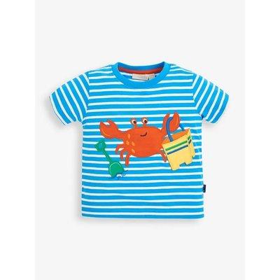 JoJo Maman Bebe Crab Applique T'shirt