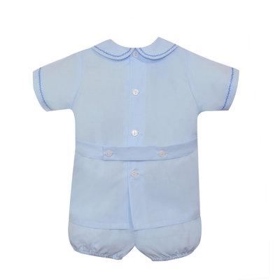 Remember Nguyen Blue Jean Short Set