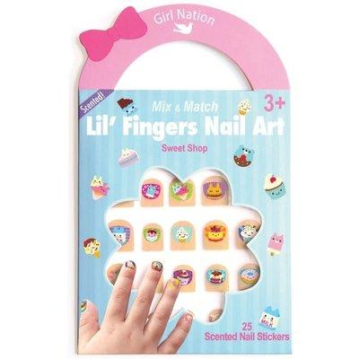 Girl Nation Lil' Fingers Nail Art- Sweet Shop