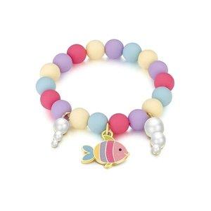 Girl Nation Charming Whimsy Bracelet- Rainbow Fish