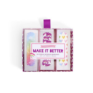 Two's Company Make it Better 30 pc Bandages - Magical Pattern