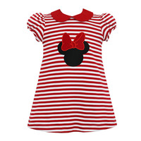 Claire & Charlie Mouse Stripe Dress