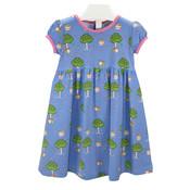 Ishtex Textile Products, Inc Apple Tree S/S Empire Dress