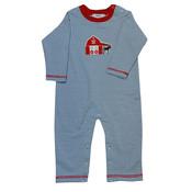 Ishtex Textile Products, Inc Horse Applique Boys Romper