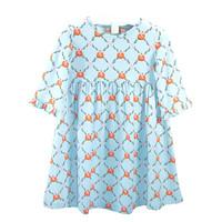 Ishtex Textile Products, Inc Pumpkin S/S Empire Dress