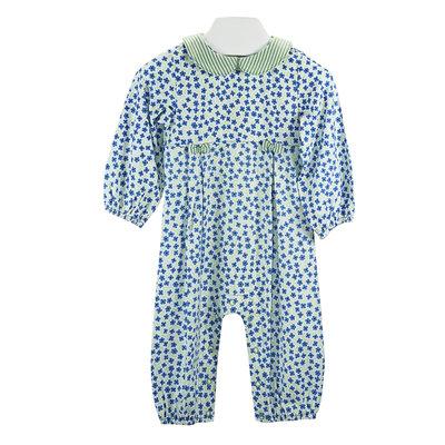 Ishtex Textile Products, Inc Floral Girls L/S Romper