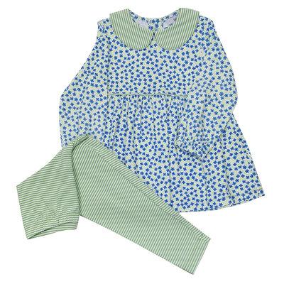Ishtex Textile Products, Inc Floral Leggings Set