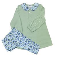 Ishtex Textile Products, Inc Floral Tunic Set
