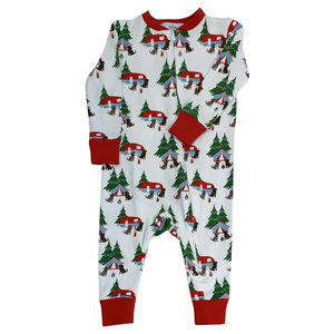 Ishtex Textile Products, Inc Camping Onesie Loungewear