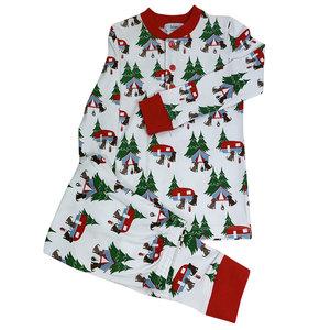 Ishtex Textile Products, Inc Camping Boys PJ Set