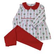 Ishtex Textile Products, Inc Mistletoe Leggings Set