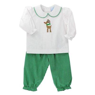 Bailey Boys Reindeer Girl's Pant Set
