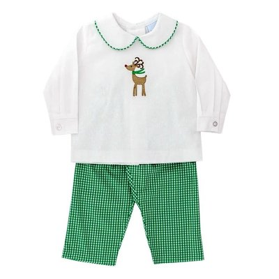 Bailey Boys Reindeer Boy's Pant Set