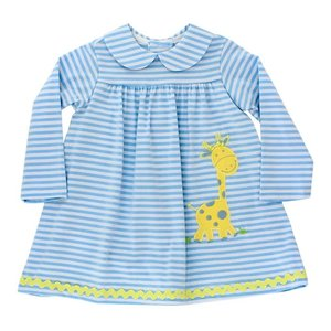 Bailey Boys Gentle Giraffe Knit Dress w/Collar