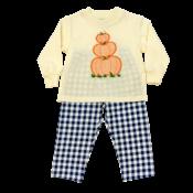 Bailey Boys Pumpkins Boy's Pant Set