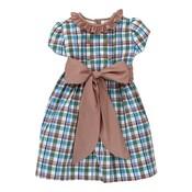 Bailey Boys Wood Duck Plaid Dress