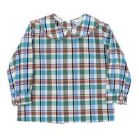Bailey Boys Wood Duck Plaid Boy's Piped Shirt