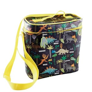 Floss and Rock Dinosaur Lunch Bag w/Detachable Strap & Bottle Holder