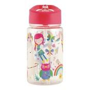 Floss and Rock Rainbow Fairy Tritan Water Bottle