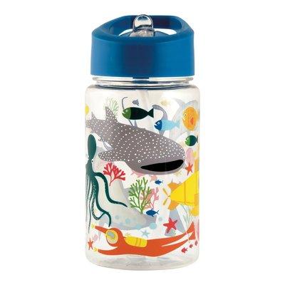Floss and Rock Deep Sea Tritan Water Bottle