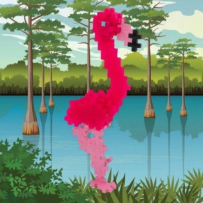 Plus-Plus USA Plus-Plus Tube - Flamingo