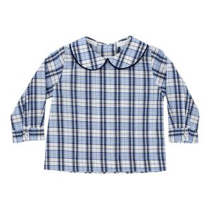 Bailey Boys Buxton Plaid Boy's Piped Shirt