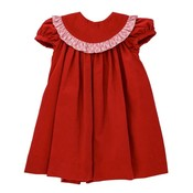 Bailey Boys Wembley Plaid/Red Cord Float Dress