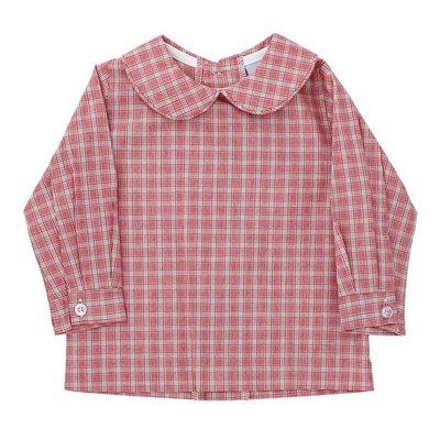 Bailey Boys Wembley Plaid Boy's Piped Shirt